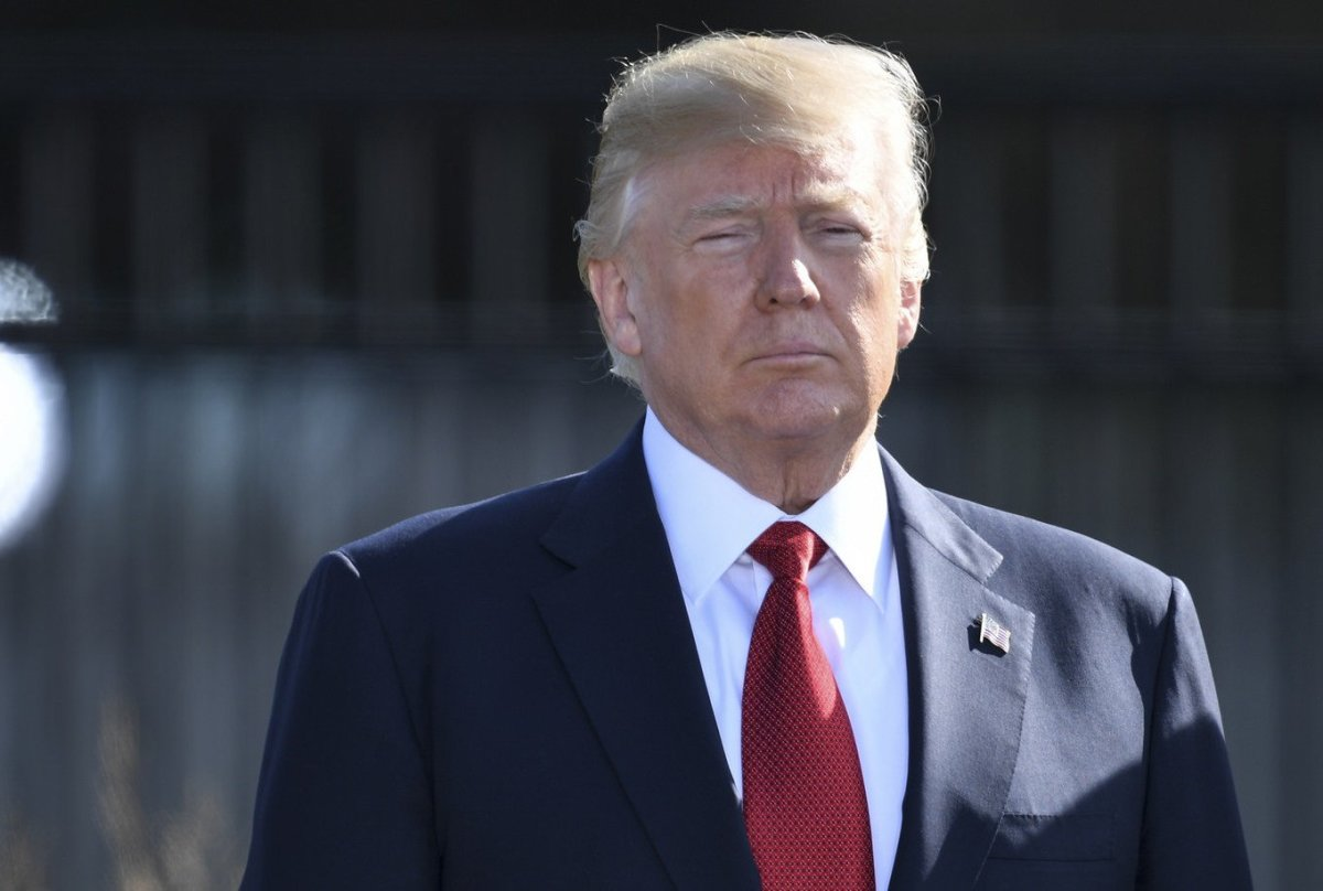 Trump Under Fire For Ignoring Soldiers' Deaths In Niger Promo Image