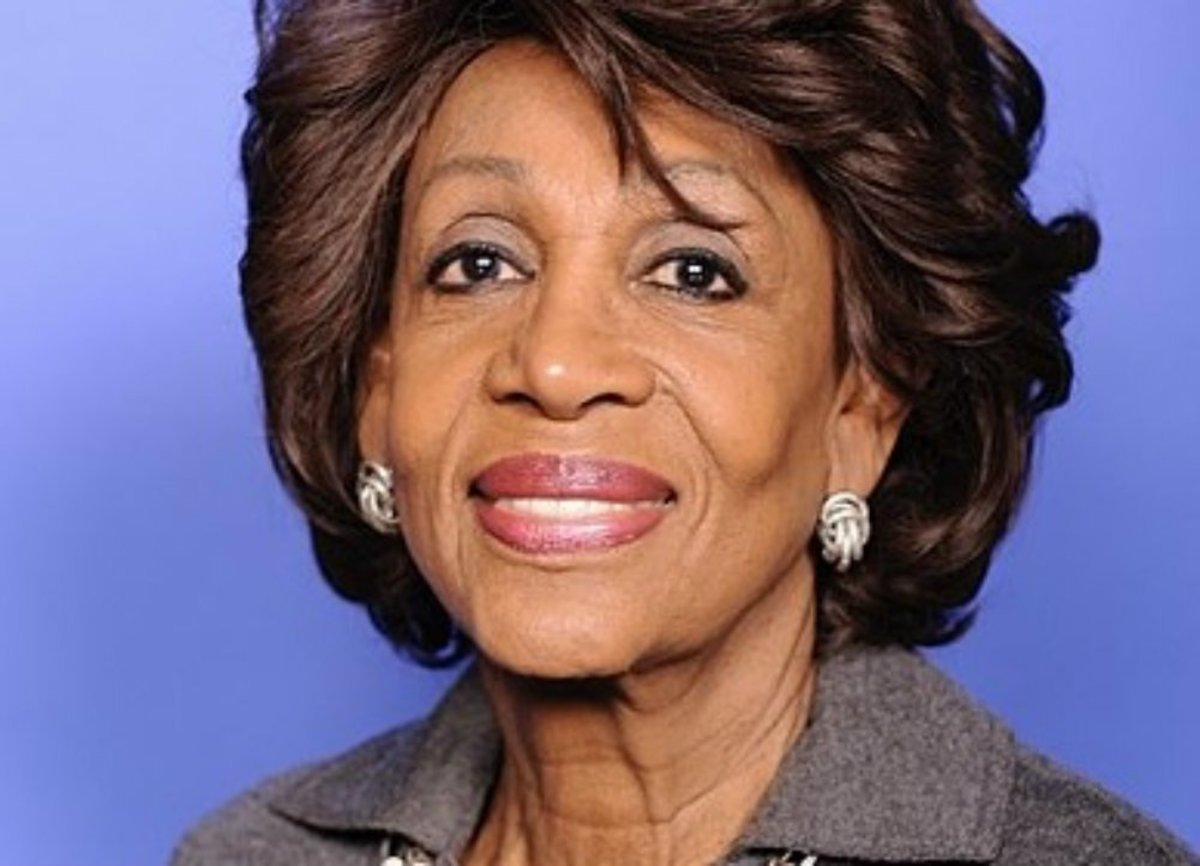 Maxine Waters Urges Black Community To Help Oust Trump Promo Image