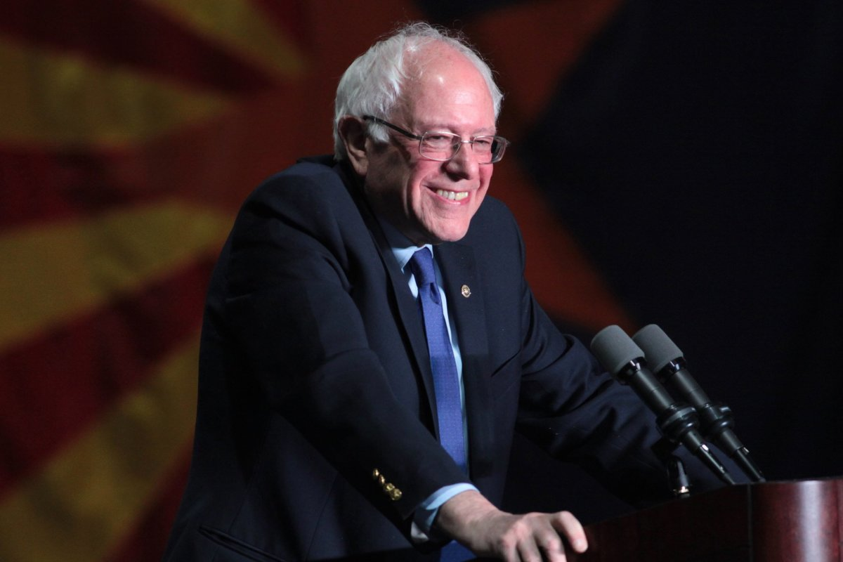 Poll: Bernie Sanders Is America's Most-Liked Politician Promo Image