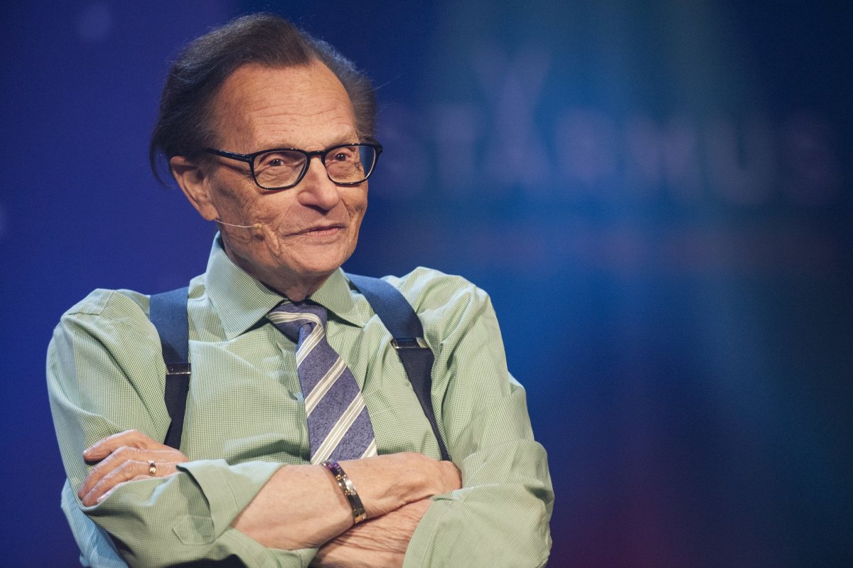 Larry King Reveals Lung Cancer Diagnosis Promo Image