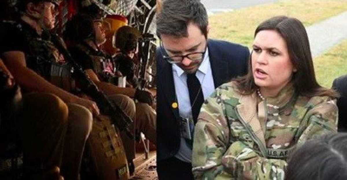 Army Ranger Who Gave Sarah Sanders His Jacket Didn't Expect What She'd Give Him In Return Promo Image