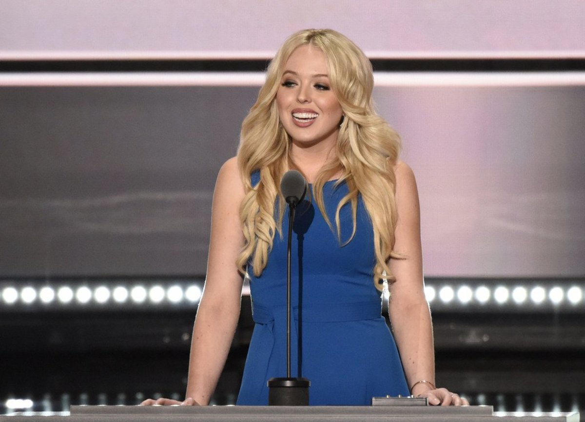 Tiffany Trump's Short Outfit Sparks Controversy (Photo) Promo Image