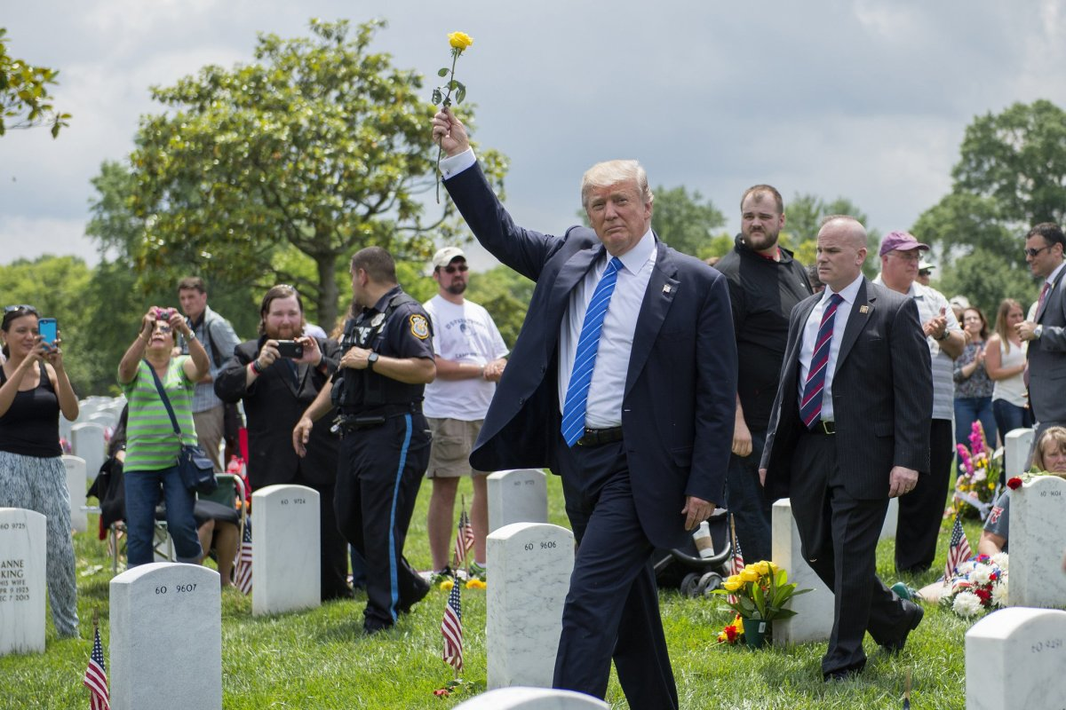 Fact Check: Trump On Calling Gold Star Families Promo Image