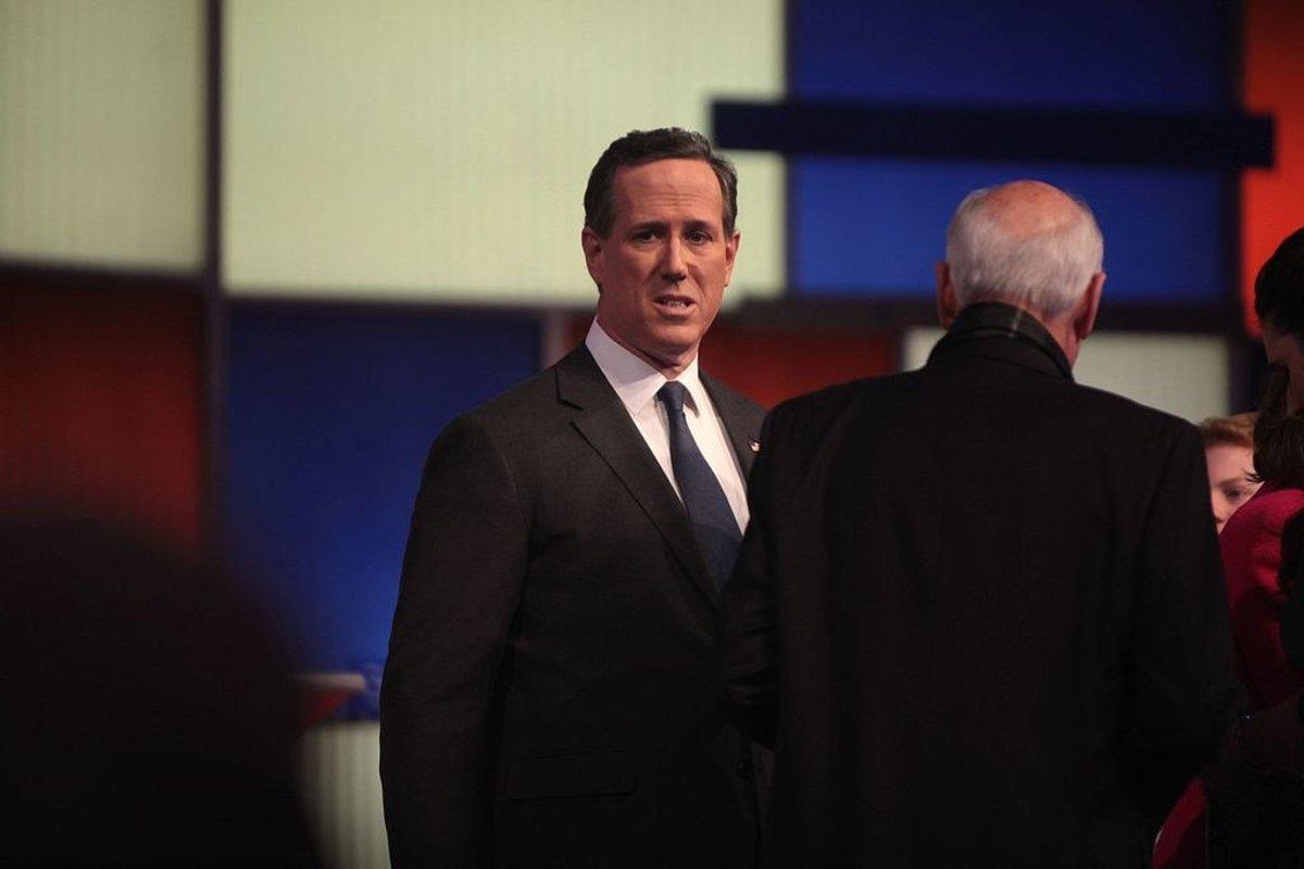 Santorum Concerned Over Trump Presidency Promo Image