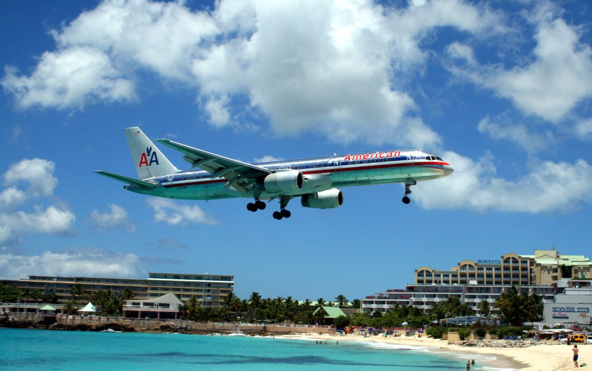 Hurricane Irma Destroys Famous St. Martin's Airport (Photo) Promo Image