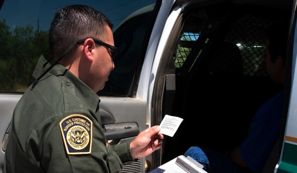 School Teacher Refuses Citizenship Check Inside US (Video) Promo Image
