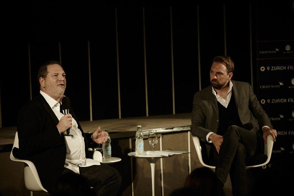 Weinstein Slapped In Face In Restaurant (Video) Promo Image