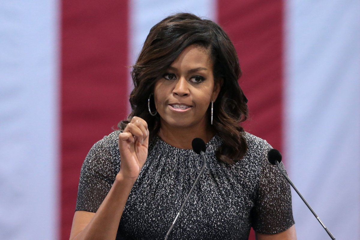 Michelle Obama: Women 'Voted Against Their Own Voice' Promo Image