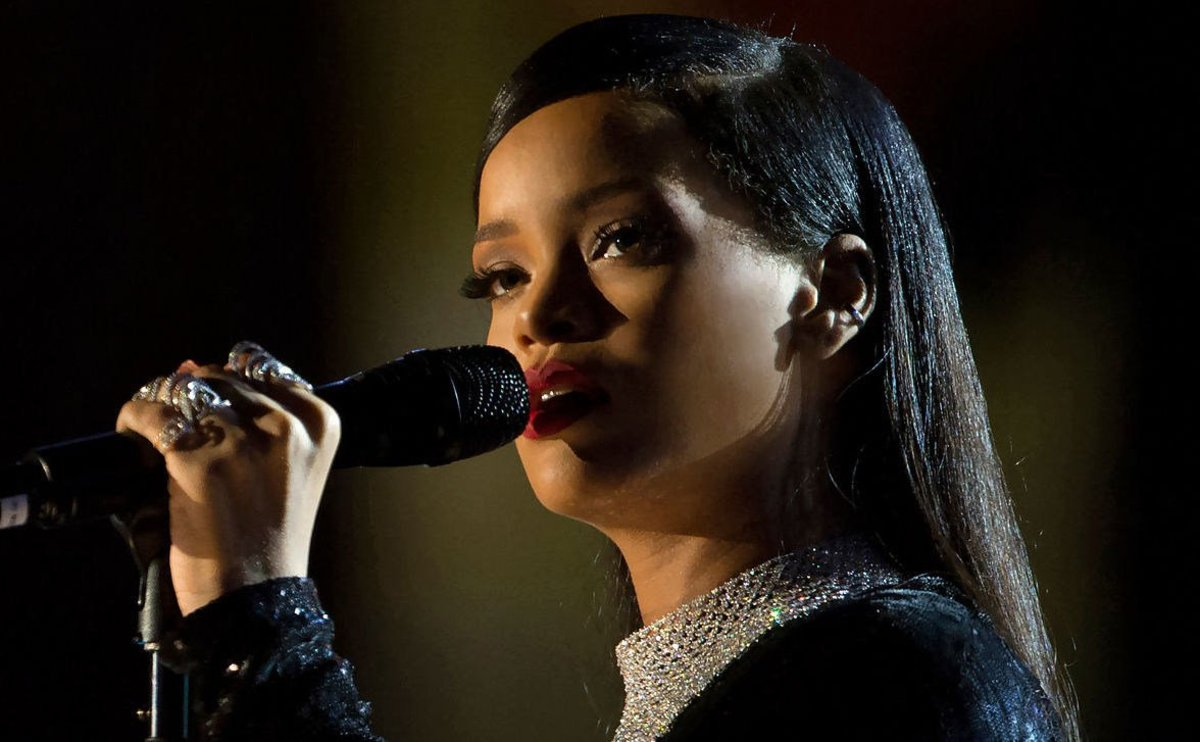 Rihanna Mourns Cousin's Death In Barbados Promo Image