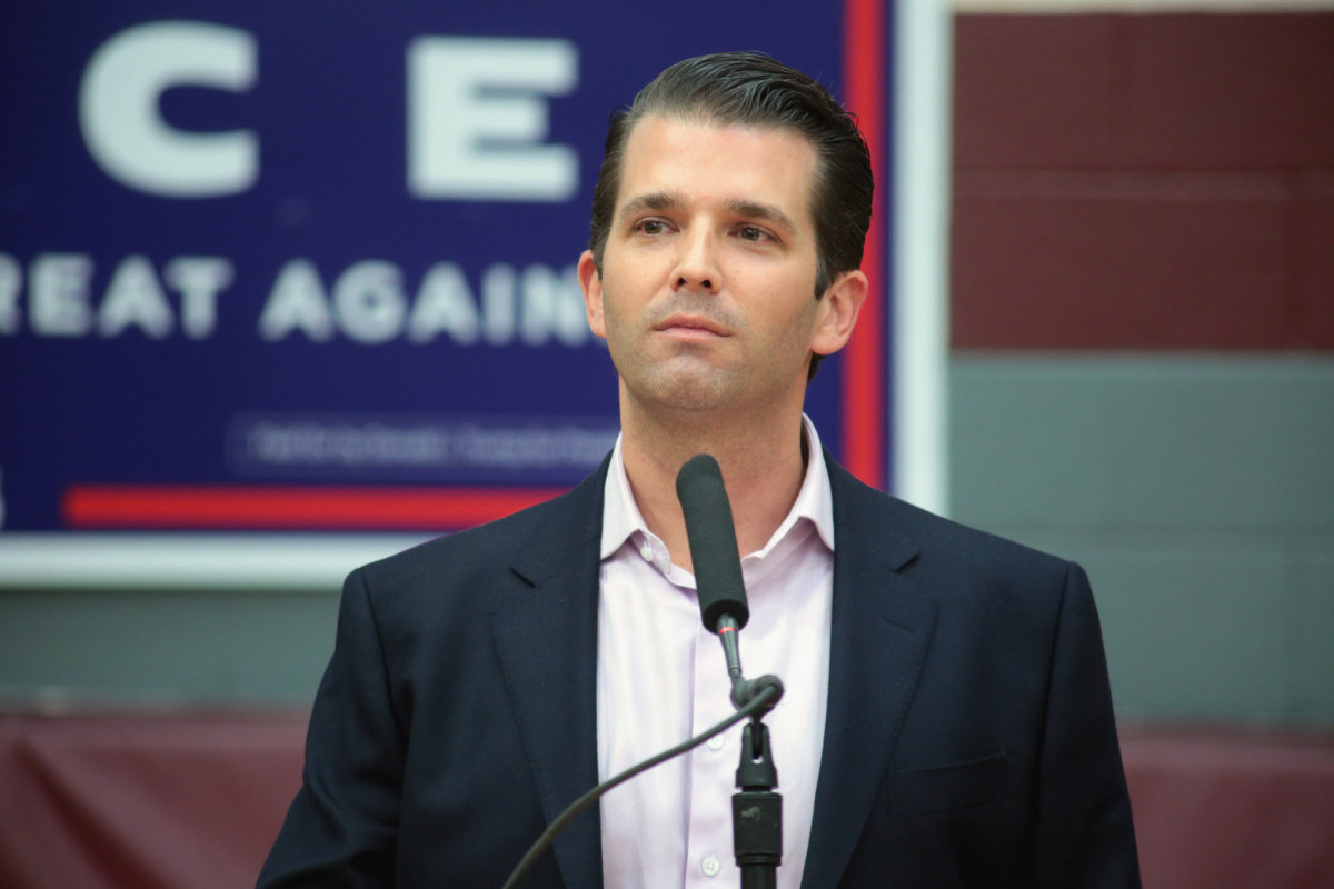 Donald Trump Jr. Wants To Run For Office Promo Image