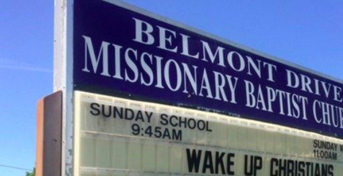 Church's Shocking Message To Visitors Sparks Outrage (Photos) Promo Image