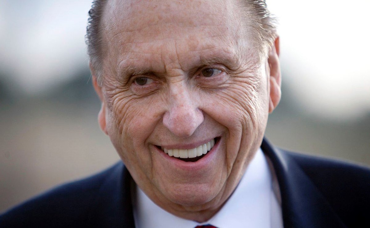 Thomas S. Monson, President Of LDS Church, Passes At 90 Promo Image