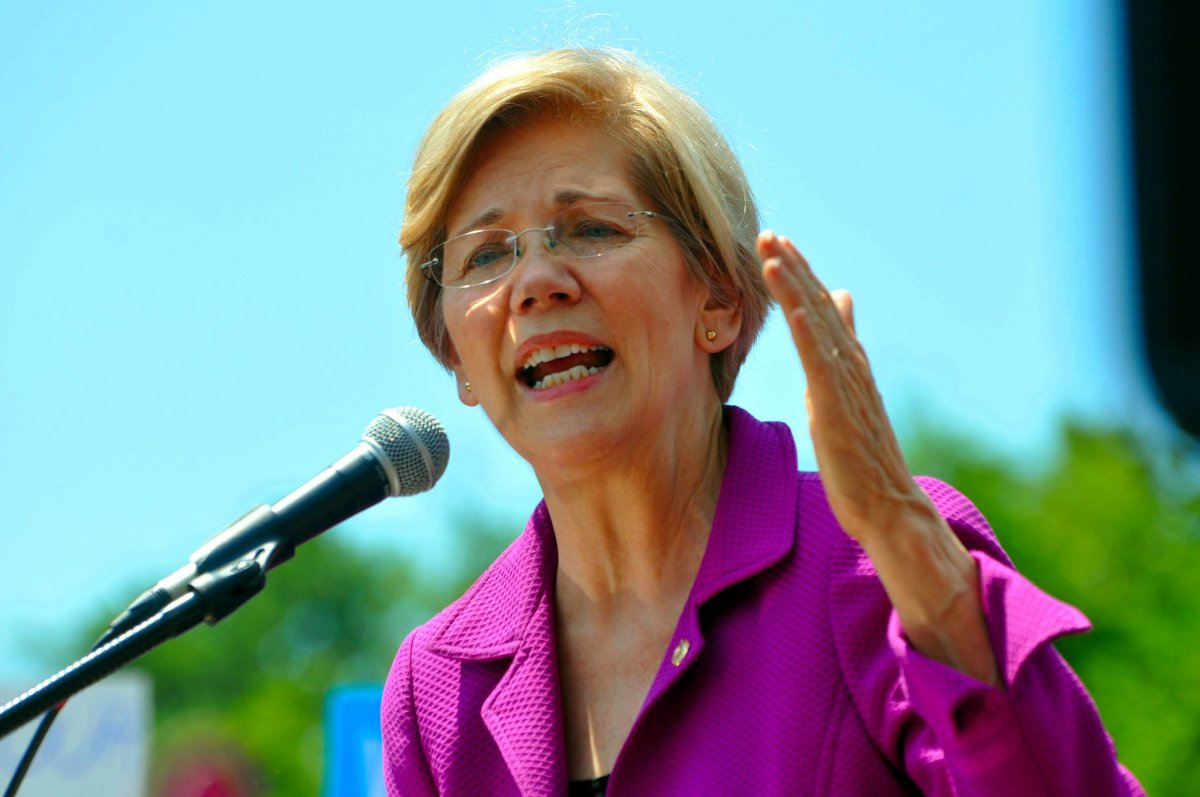 Warren: The Left Is The Heart Of The Democratic Party Promo Image