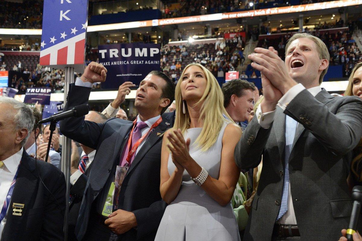 Report: Ivanka Trump And Trump Jr. Dodged Fraud Charge Promo Image