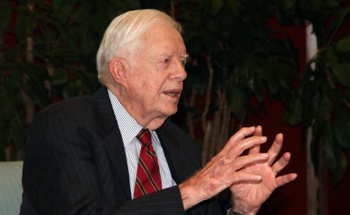 Jimmy Carter Taken To Hospital After Collapsing Promo Image