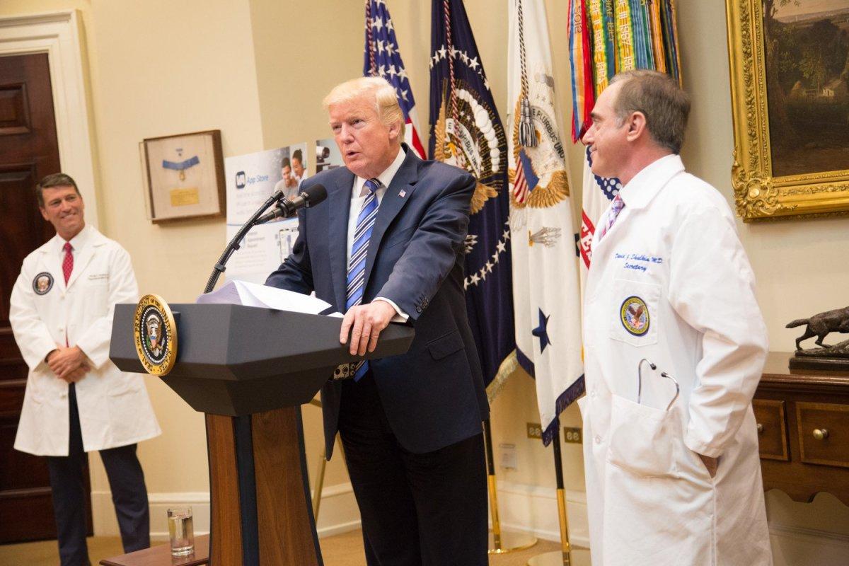 Trump Declares Opioid Crisis A National Emergency Promo Image