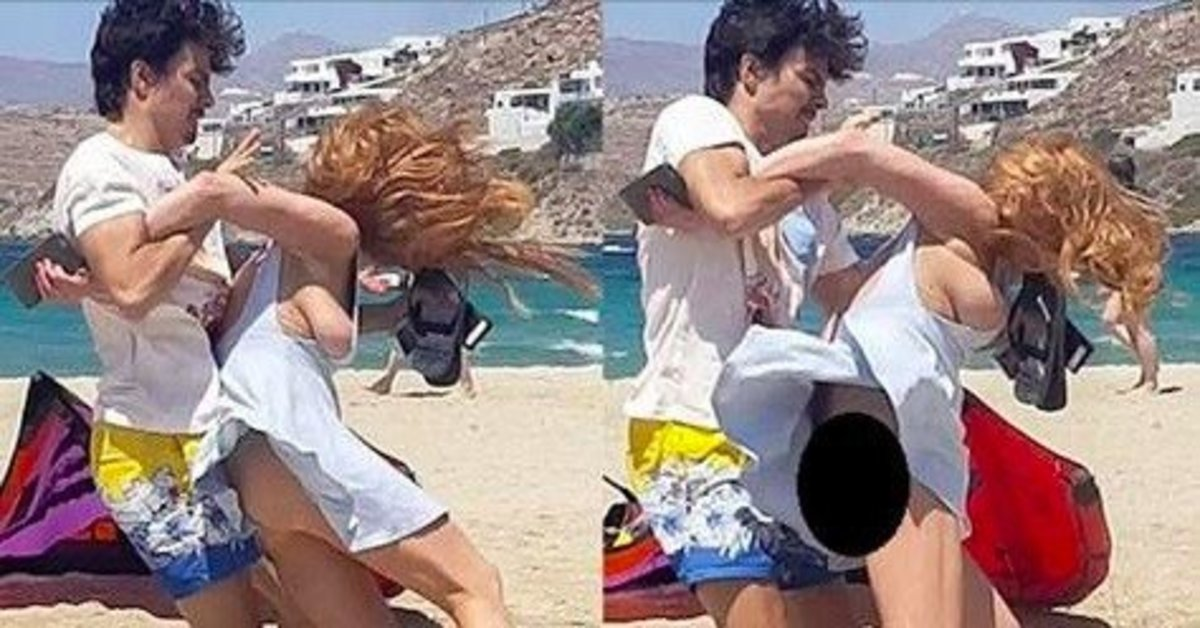 Cops Called After Major Hollywood Star Is Attacked On Beach (Video) Promo Image