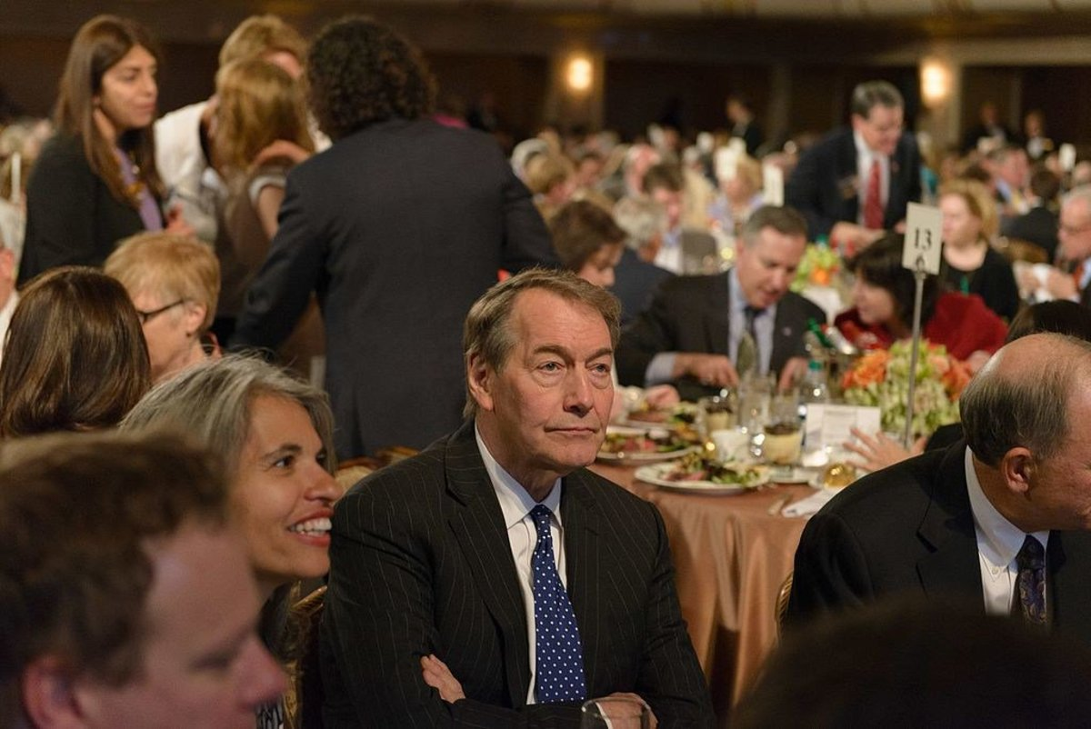 Eight Women Accuse Charlie Rose Of Sexual Harassment Promo Image