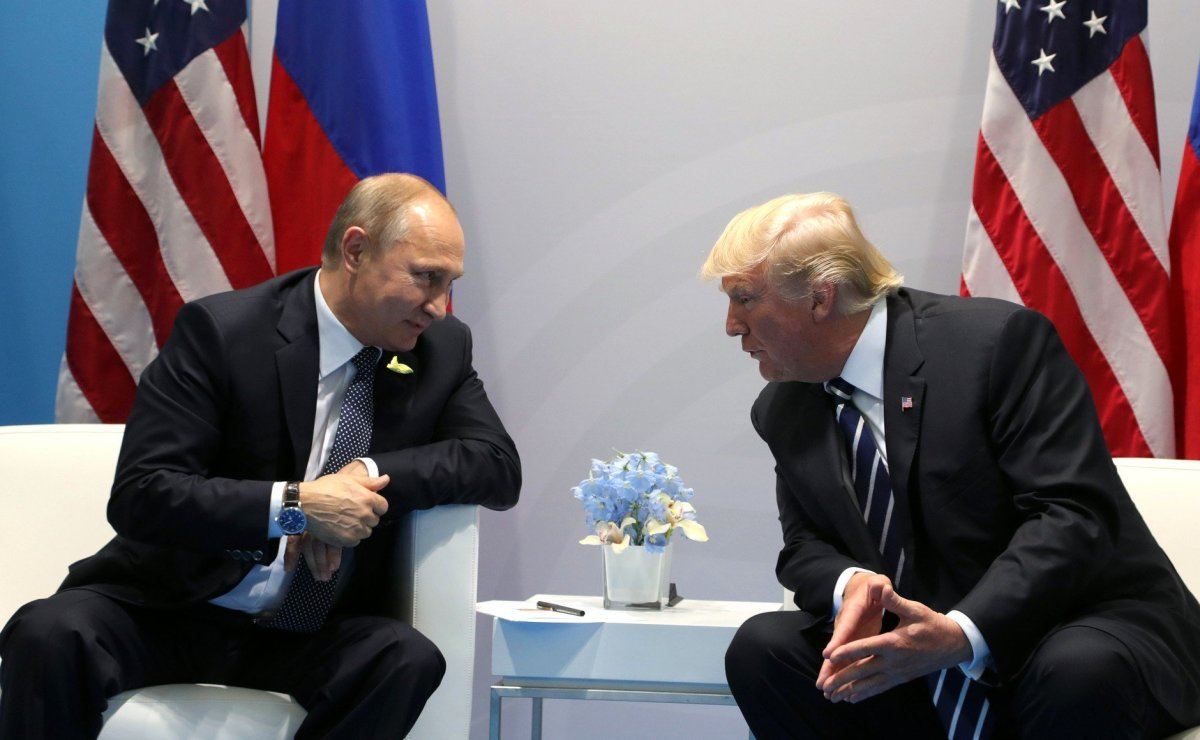 Candidate Trump Didn't Reject Possible Putin Meeting Promo Image
