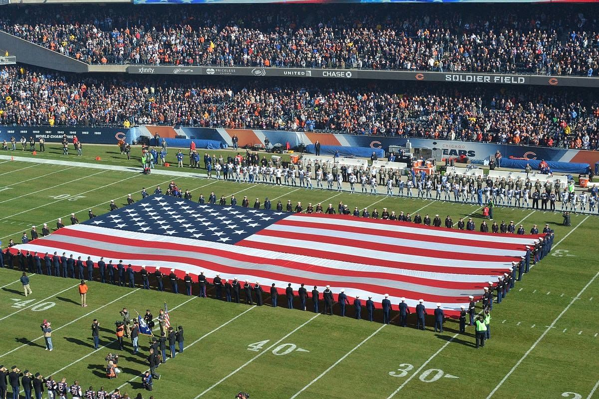 NFL Stars Remain Seated During National Anthem Promo Image