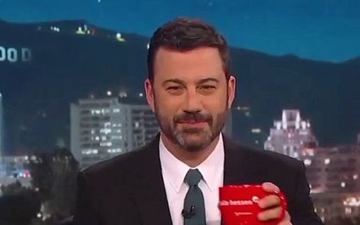 Jimmy Kimmel Involved In Serious Car Crash (Photos) Promo Image