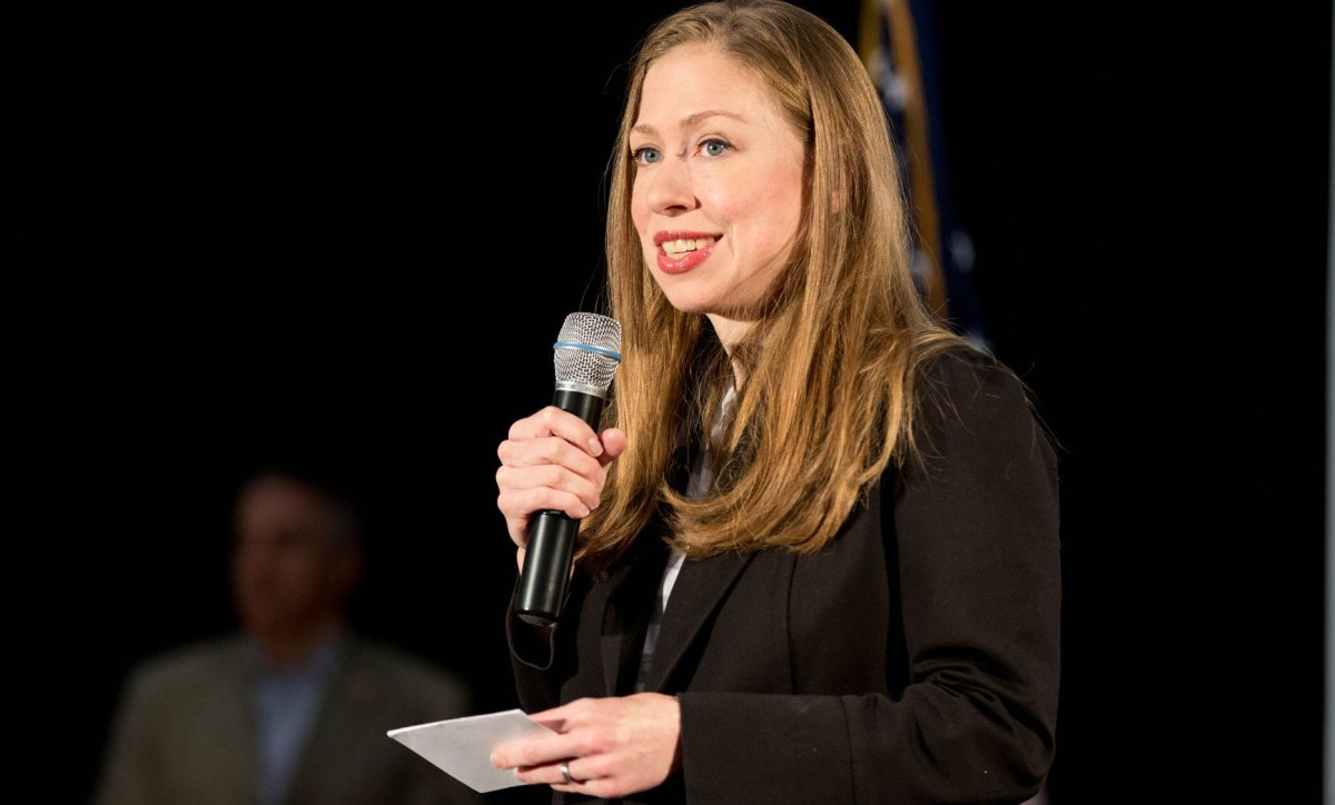 Chelsea Clinton Slams Fake Story About Malia Obama Promo Image