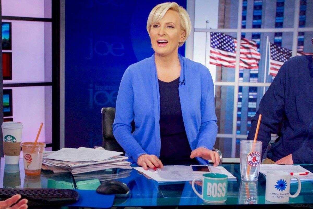 Backlash After Mika Brzezinski Doubts Franken Accuser Promo Image