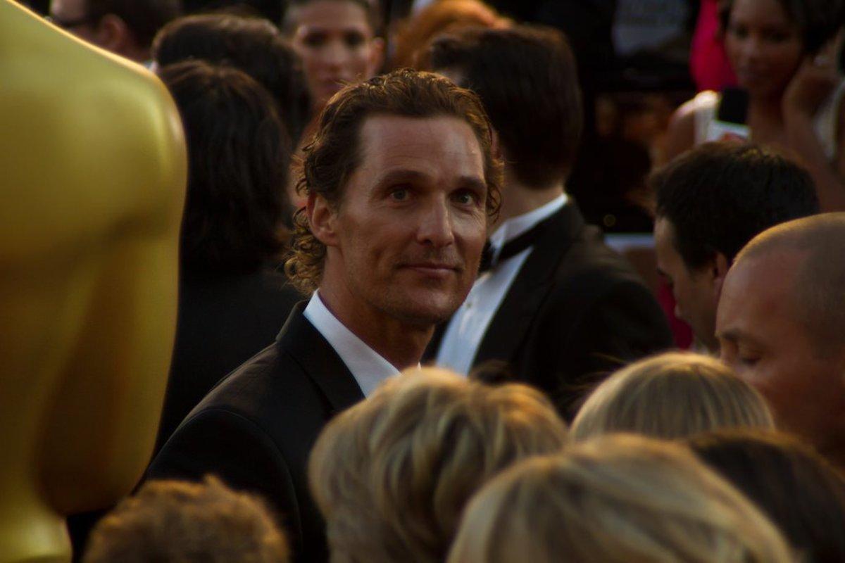 Matthew McConaughey Spent His Birthday Donating Turkeys (Photos) Promo Image