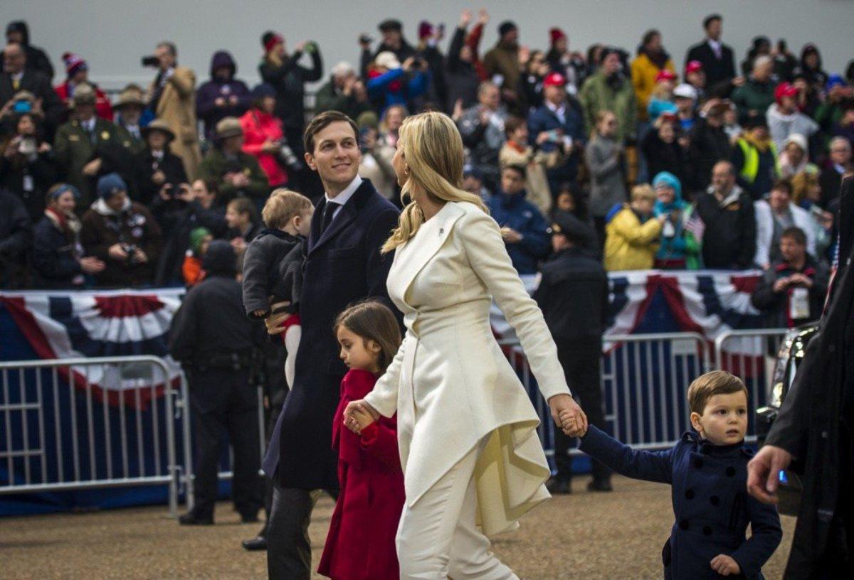 Kushner Kids Share Treats With Secret Service Agents Promo Image
