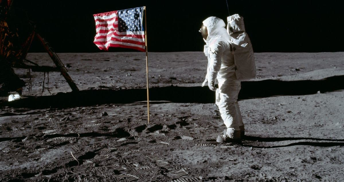 Trump Wants To See America Return To The Moon Promo Image