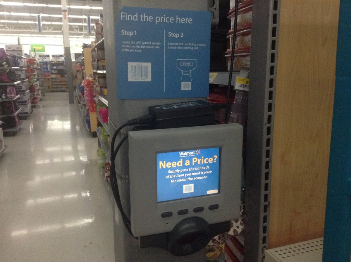 Woman Swaps Bar Codes At Walmart, Pays $3 For Computer Promo Image