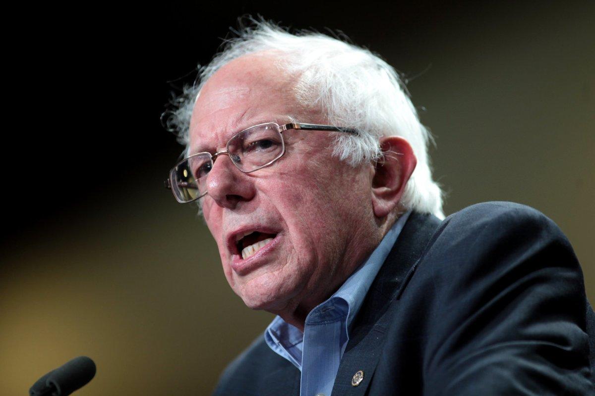 Sanders Blasts US Military Spending Promo Image