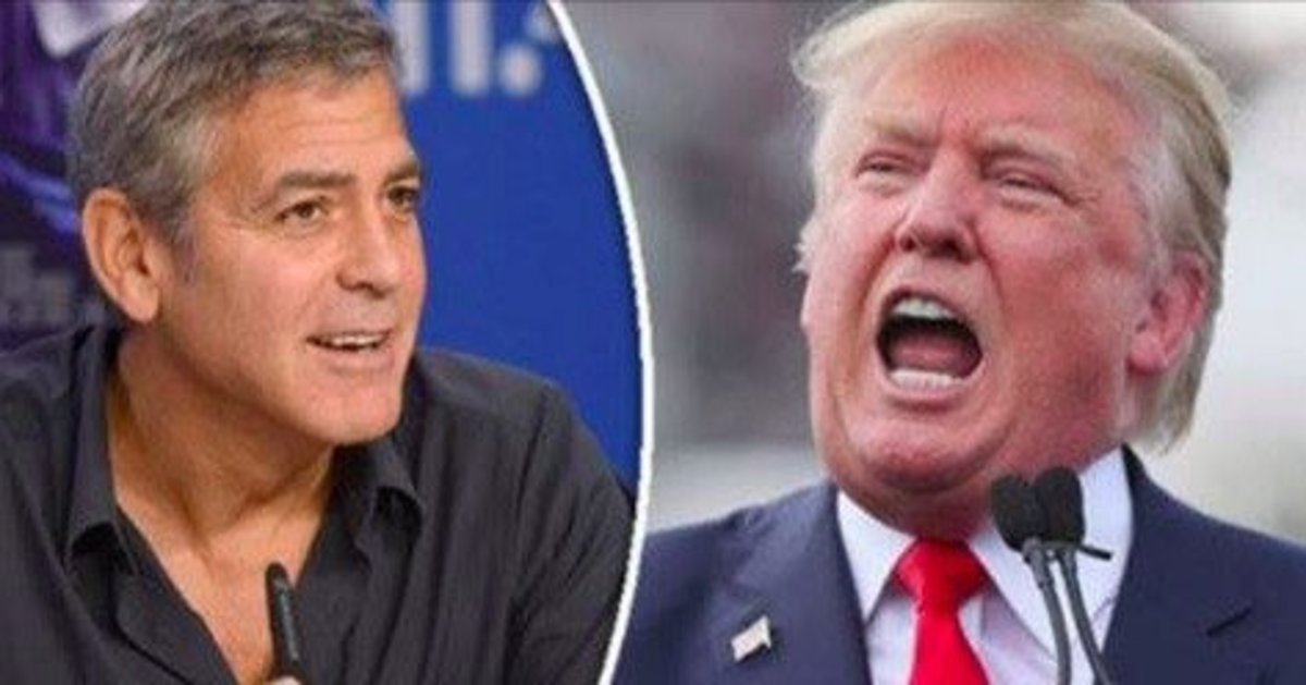 George Clooney Reveals Truth About President Trump Promo Image