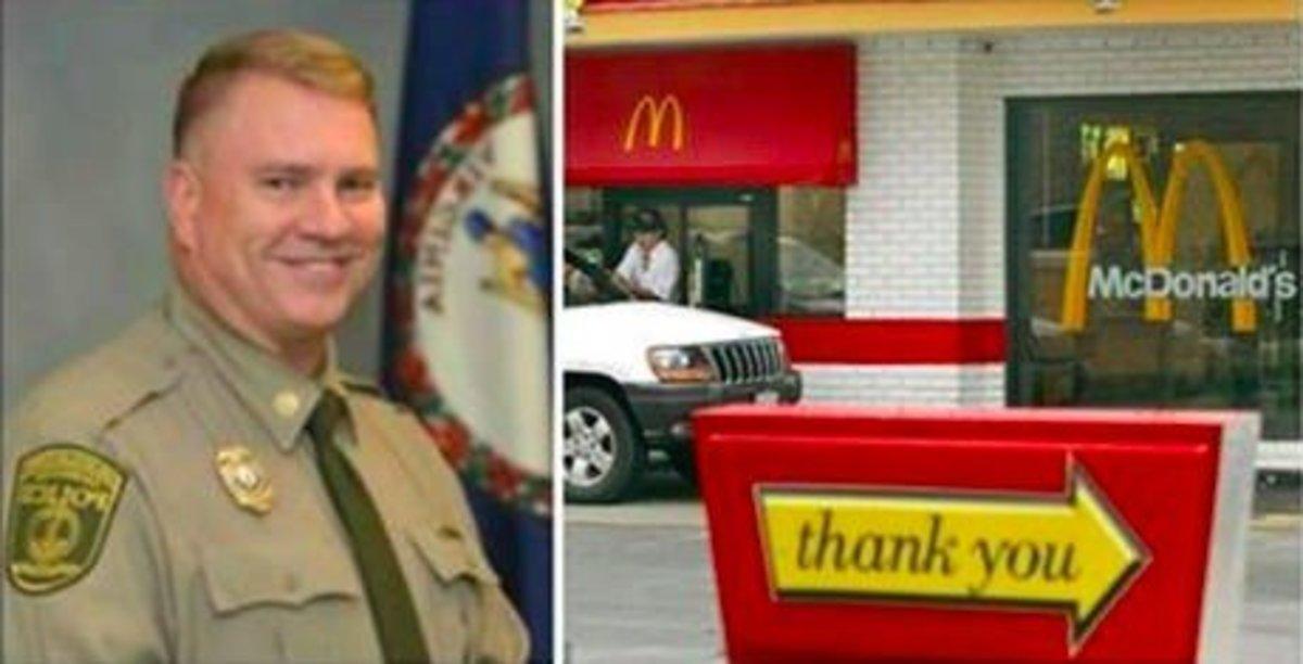 McDonald's Boss Replies After Burger-Flipper Says He 'Won't Serve No Cop' Promo Image