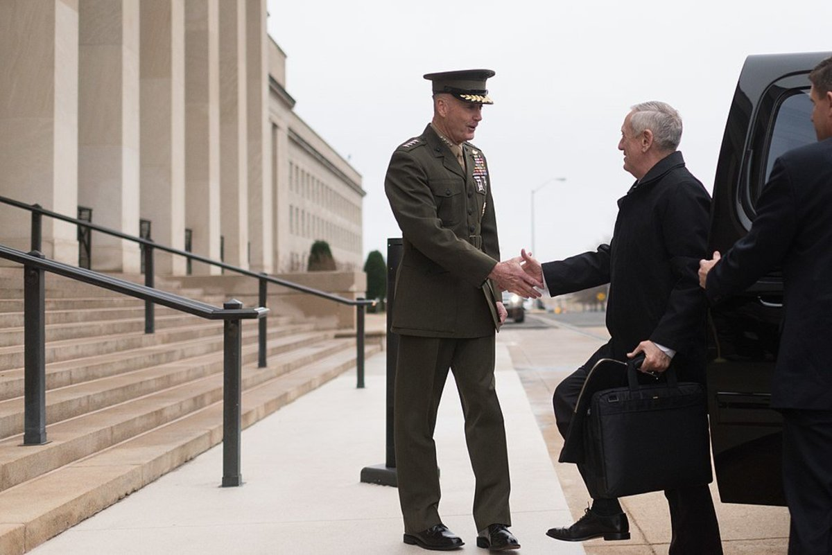 Mattis Relaxes Rules Of Engagement In Afghanistan Promo Image