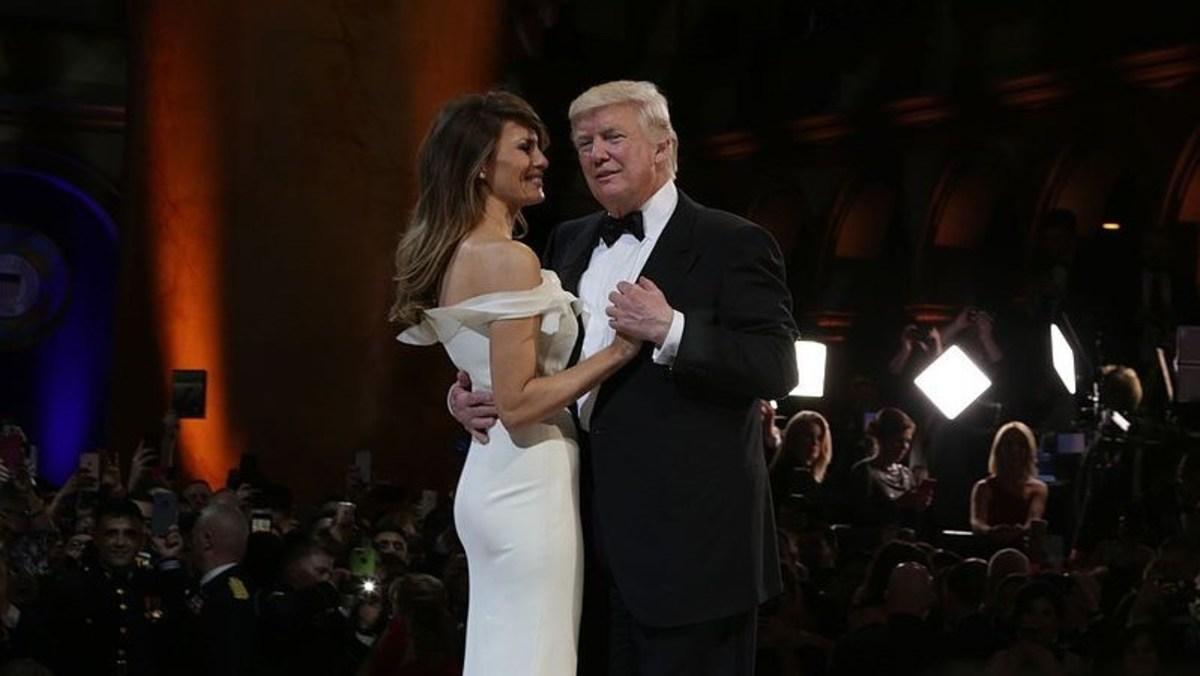 Trump Gives Melania Back Rub During Ohio Rally (Video) Promo Image