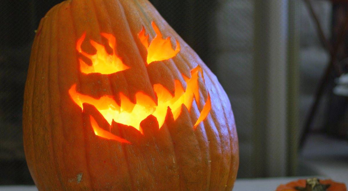 neighbors shockedman's halloween message (photos) - opposing views