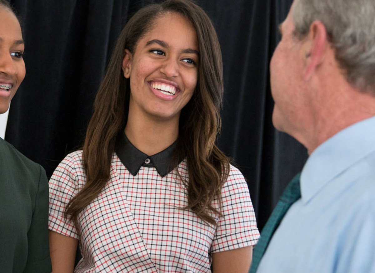 Malia Obama's Stalker Detained After He Proposes To Her Promo Image