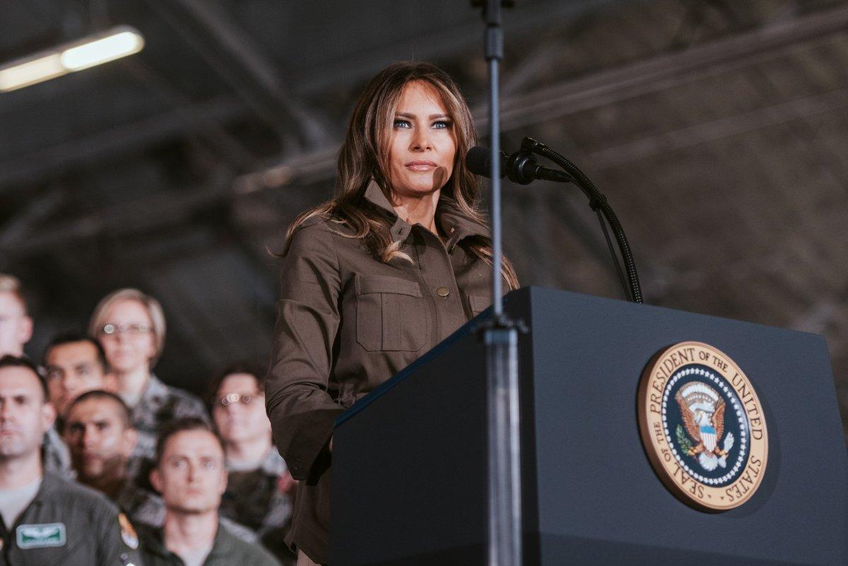 Melania Avoids President Trump's Hand Again (Video) Promo Image