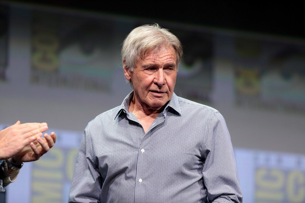 Harrison Ford Helps Woman Who Crashed Her Car (Photos) Promo Image