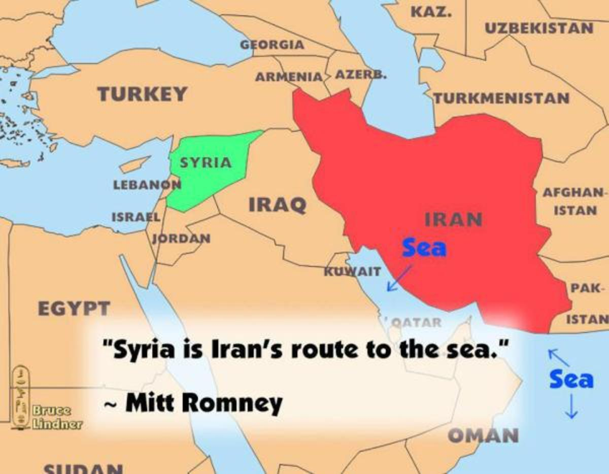Mitt romney says syria is irans only route to the sea opposing image placeholder title gumiabroncs Images