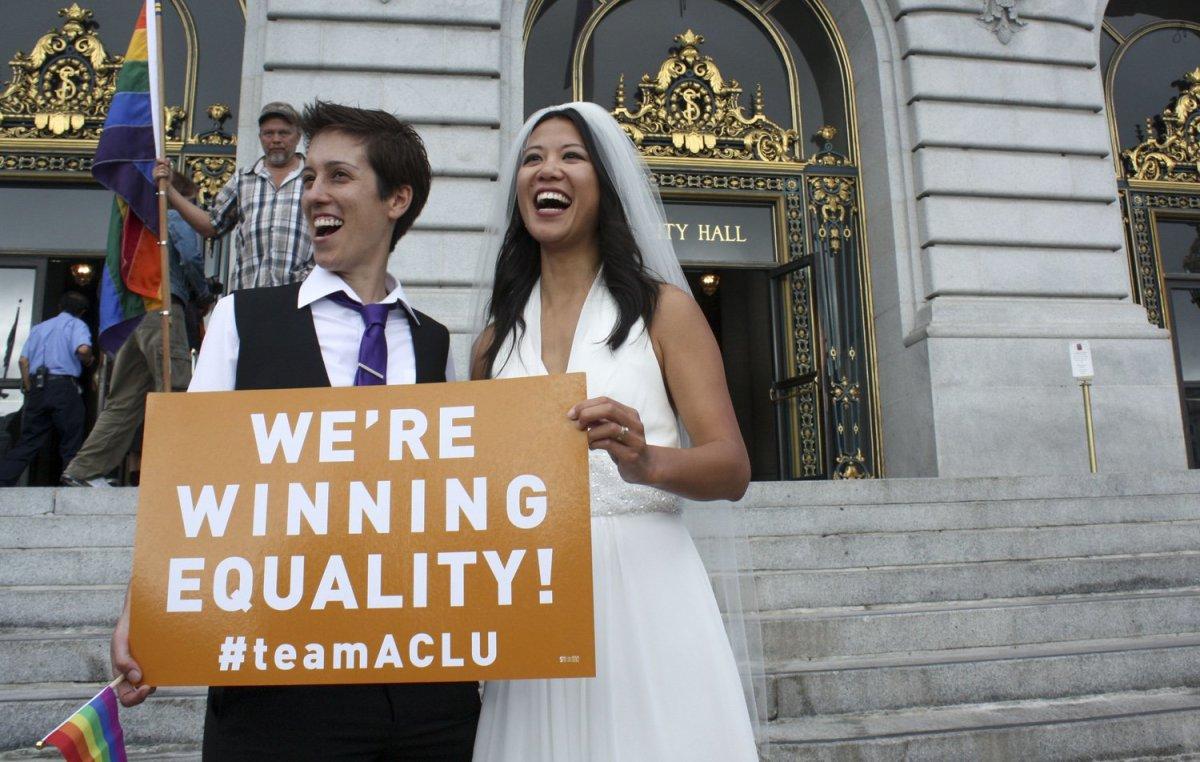 Gay Marriage Arguments Divide Supreme Court Justices
