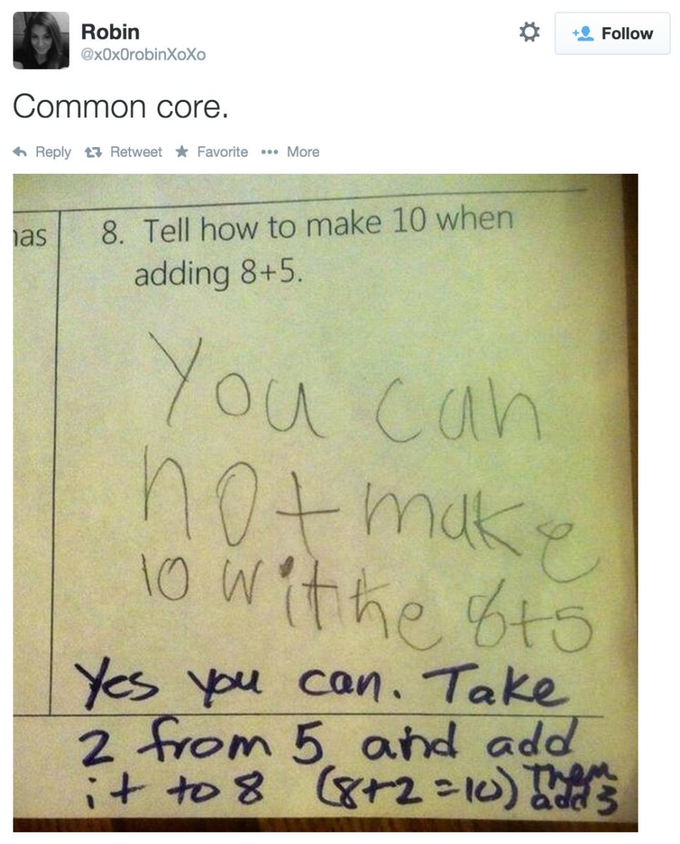 Math Problem Goes Viral, Sparks Common Core Debate - Opposing Views
