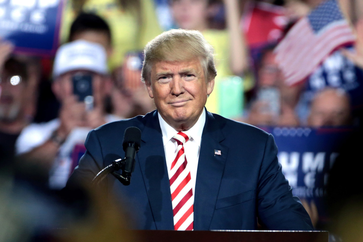 Polls: Trump Approval Rating Nudges Up Promo Image