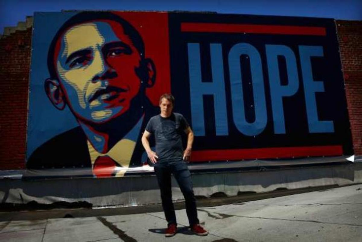 Obama Hope Change Poster 'hope' Poster Says Obama
