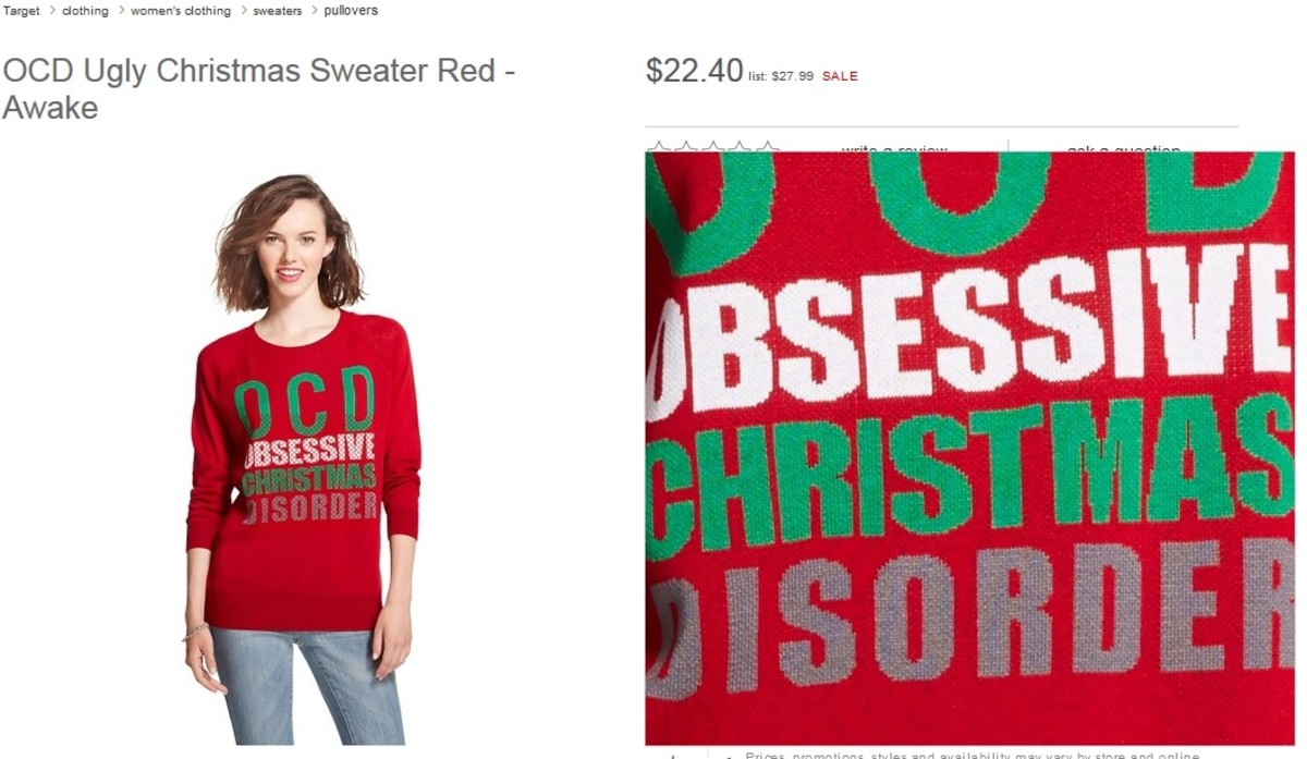 Outrage: Twitter Users Call On Target To Remove \'OCD\' Christmas ...