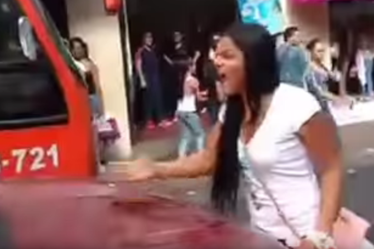 Watch What Happens When Woman Finds Her Husband With