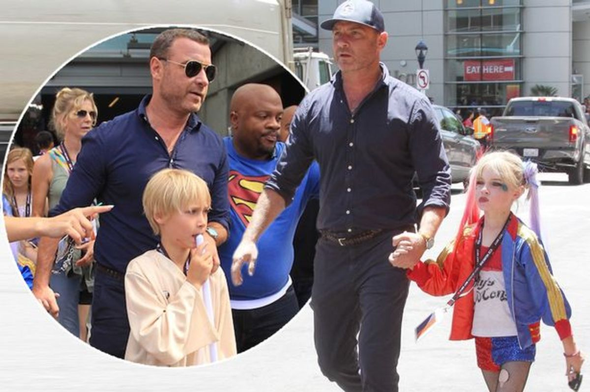 Liev Schreiber And Son Praised For Defying Gender Norms ...