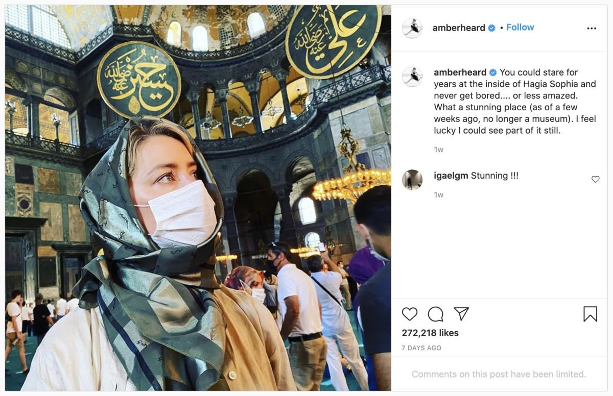 Photo Credit: Instagram/Amber Heard