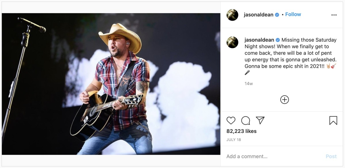 Photo Credit: Instagram/Jason Aldean
